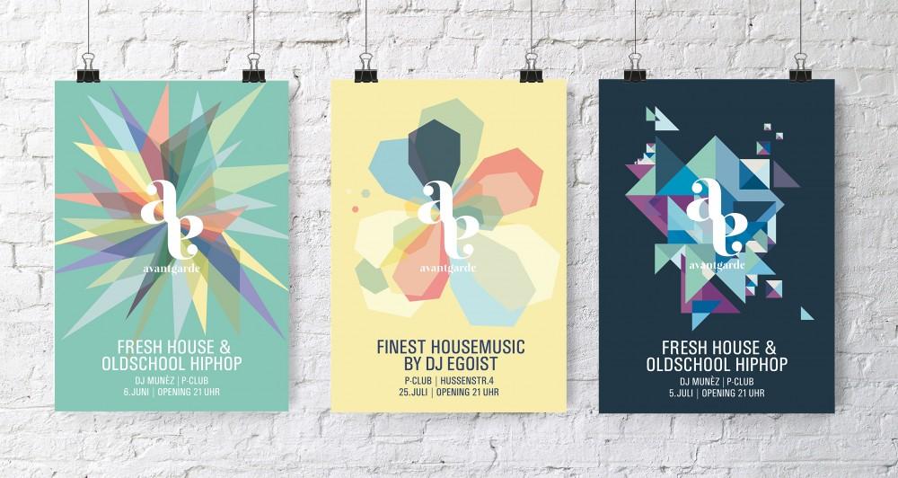 Avantgarde Plakatwand 3